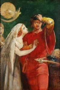 painting that shows Othello and Desdemona
